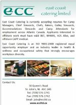 east coast catering careers current opportunities